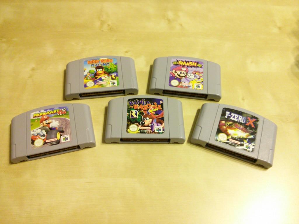 Nintendo 64 Spiele